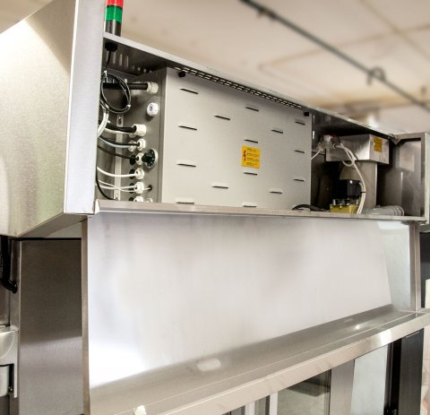 Proofer, Retarder, Freezer Cabinet F-Series F500 easy access to electrical box Sveba Dahlen Bakery Supermarket Dough Prover