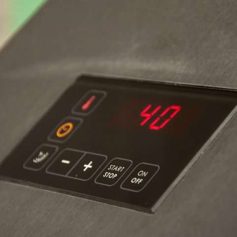 F-Series F100 dough fermentation proofer climate unit for bakery proofing rooms user-friendly control panel Sveba Dahlen