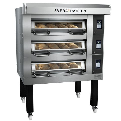 Deck Oven D-Series D32 - flexible baking with three decks