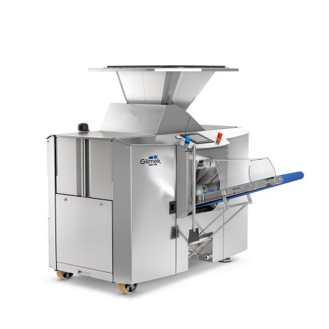 SD600 dough divider with 100 liter hopper for high level dough line production from glimek
