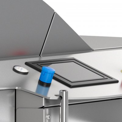 SD600 dough divider is flexible regarding types of dough with stepless adjustable dough pressure system