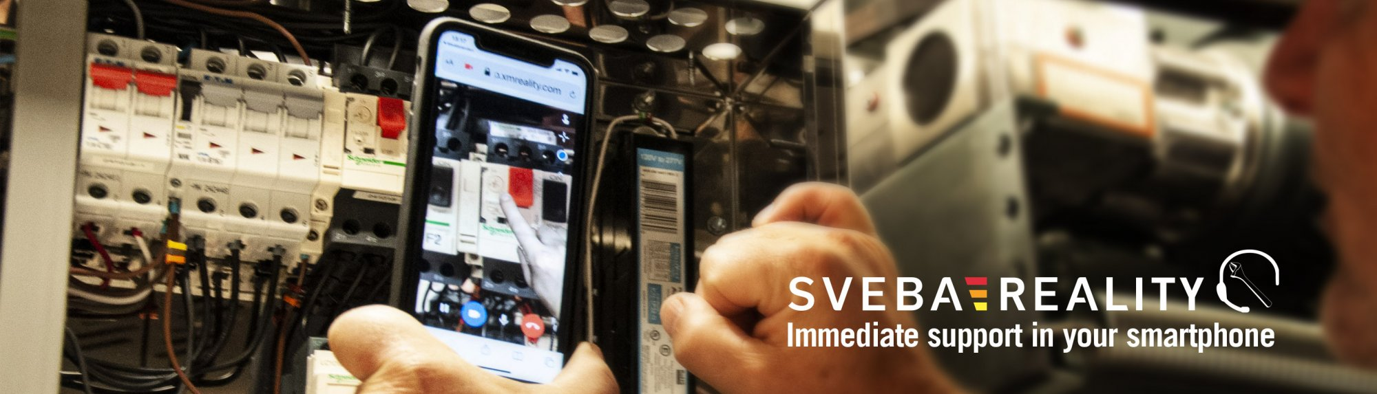Immediate support for your technicians in the bakery with sveba reality digital support in your smartphone